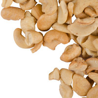 Regal Foods 5 lb. Large Roasted and Salted Cashew Pieces