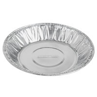 Baker's Mark 6 inch x 15/16 inch Medium Depth Foil Pie Pan - 1000/Case