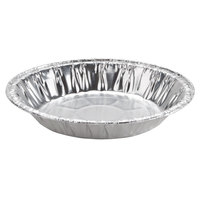 "Baker's Mark 6"" x 15/16"" Medium Depth Foil Pie Pan   - 1000/Case"