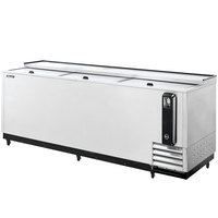 Turbo Air TBC-95SD Super Deluxe Stainless Steel 95 inch Bottle Cooler