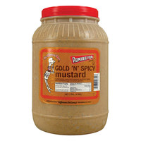 Admiration Gold N Spicy Mustard 1 Gallon Container   - 4/Case