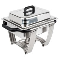 Vollrath 99870 4.1 Qt. Dakota Chafer Rectangular Half Size Complete Set