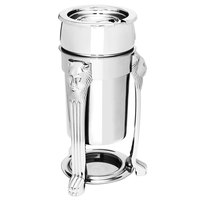 Eastern Tabletop 3101LH-SS Lion Head 2 Qt. Stainless Steel Sauce / Soup Marmite with Lift-Off Lid