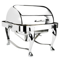 Eastern Tabletop 3117 Park Avenue 4 Qt. Stainless Steel Square Roll Top Chafer