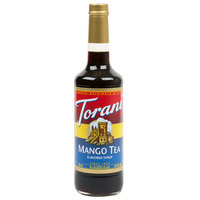 Torani 750 mL Mango Tea Flavoring / Fruit Syrup