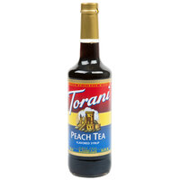 Torani 750 mL Peach Tea Flavoring / Fruit Syrup