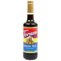 Torani 750 mL Lemon Tea Flavoring / Fruit Syrup