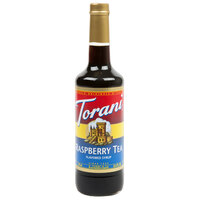 Torani 750 mL Raspberry Tea Flavoring / Fruit Syrup