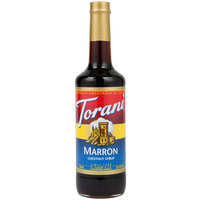 Torani 750 mL Marron (Chestnut) Flavoring Syrup