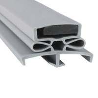 Traulsen SVC-60059-00 Equivalent Magnetic Door Gasket - 22 3/4 inch x 59 3/4 inch