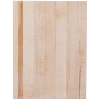 Cal-Mil 3055-1216-71 Rectangular Maple Block - 16 inch x 12 inch x 1 1/2 inch