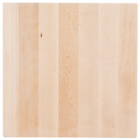 Cal-Mil 3055-1212-71 Square Maple Block - 12 inch x 12 inch x 1 1/2 inch