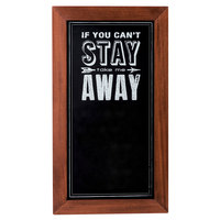 Cal-Mil 3031-1224 Chalkboard Sign with Pre-Printed Header - 12 inch x 24 inch