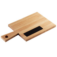 Cal-Mil 3040-60 Bamboo Write-On Board with Handle - 17 inch x 9 inch x 3/4 inch