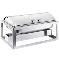 Cal-Mil 3396-55 Urban Stainless Steel Chafer - 23 1/4 inch x 12 1/2 inch