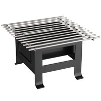 Cal-Mil 3403-12-13 Black Soho Chafer Alternative - 12 inch x 12 inch