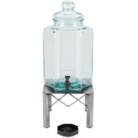 Cal-Mil 3421-2INF 2 Gallon Industrial Glass Beverage Dispenser with Infusion Chamber