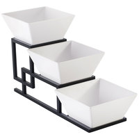 Cal-Mil 3404-13 Union 3 Tier Square Bowl Display