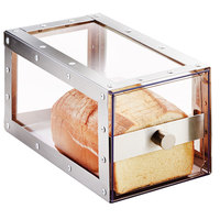 Cal-Mil 3410-55 Urban Stainless Steel Single Loaf Bread Display