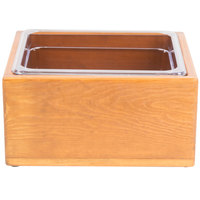 Cal-Mil 3360-10 Vintage Wood Ice Housing - 13 inch x 11 inch x 6 1/2 inch