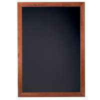 Cal-Mil 3348-2435 Blank Framed Chalkboard Sign - 27 1/2 inch x 37 1/2 inch