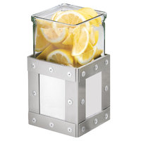 Cal-Mil 3405-5-55 Urban 5 inch Stainless Steel Riser with Glass Jar