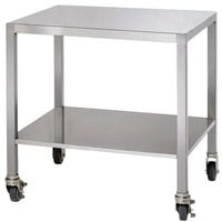 Alto-Shaam 5005181 Stainless Steel Mobile Stand with Casters for ASC-2E and 2-ASC-2E Series Convection Ovens - 23 inch