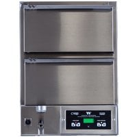 Winston Industries HBB5N2 CVAP Hold & Serve Narrow Two Drawer Warmer with Fan - 120V, 1572W