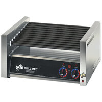 Star Grill-Max Pro 45ST 45 Hot Dog Roller Grill with Analog Controls and StalTek Non-Stick Rollers