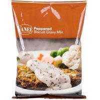 Vanee 1640 24 oz. Bag Peppered Biscuit Gravy Mix   - 6/Case