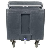 Cambro ICS125LB191 SlidingLid™ Granite Gray Portable Ice Bin - 125 lb. Capacity