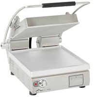 Star PST14T Pro-Max® 2.0 Single 14 inch Panini Grill with Smooth Aluminum Plates - Electronic Timer