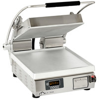 Star PST14E Pro-Max® 2.0 Single 14 inch Panini Grill with Smooth Aluminum Plates - Electronic Timer