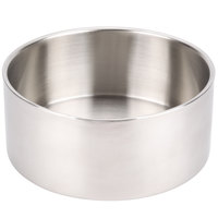 American Metalcraft DWB10 10 inch x 4 inch Insulated Double Wall Stainless Steel Bowl