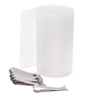 Carnival King CCMNET Floss Bowl Stabilizer Net and Clips for Cotton Candy Machines