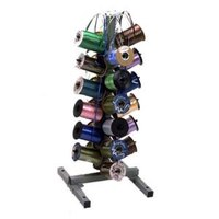 Bulman M724 24 Spool Ribbon Dispenser for Curling Ribbon