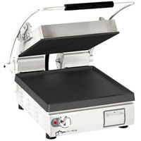Star PST14IT Pro-Max® 2.0 Single 14 inch Panini Grill with Smooth Cast Iron Plates - Electronic Timer