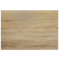 BFM Seating SO2430 Midtown 24 inch x 30 inch Rectangular Indoor Tabletop - Sawmill Oak Finish