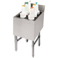 Advance Tabco CRI-12-12 Stainless Steel Underbar Ice Bin - 12 inch x 21 inch