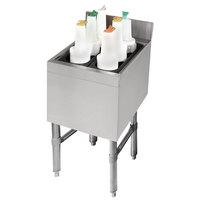 Advance Tabco SLI-12-12 Stainless Steel Underbar Ice Bin - 12 inch x 18 inch
