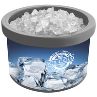 IRP 900 Gray Ice Cube 4 Qt. Countertop Merchandiser
