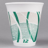 Dart 12LX16E 12 oz. Impulse Foam Travel Cup   - 1000/Case
