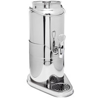 Eastern Tabletop 7561 3 Qt. Stainless Steel Milk Dispenser with Central Ice Chamber