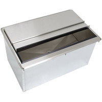 Advance Tabco D-24-IBL Stainless Steel Drop-In Ice Bin - 21 inch x 18 inch