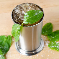 American Metalcraft JC11 11 oz. Brushed Stainless Steel Mint Julep Cup