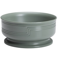 Cambro MDSB16447 Shoreline 16.9 oz. Meadow Green Entree Bowl - 48/Case