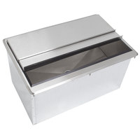 Advance Tabco D-30-IBL-7 Stainless Steel Drop-In Ice Bin with 7-Circuit Cold Plate - 27 inch x 18 inch