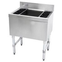 Advance Tabco SLI-16-24 Stainless Steel Underbar Ice Bin - 24 inch x 18 inch