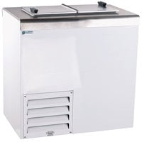 Excellence HFF-2 32 inch Flip Lid Ice Cream Dipping Cabinet