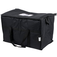 Choice Soft Sided Insulated Cooler Bag - Black Nylon